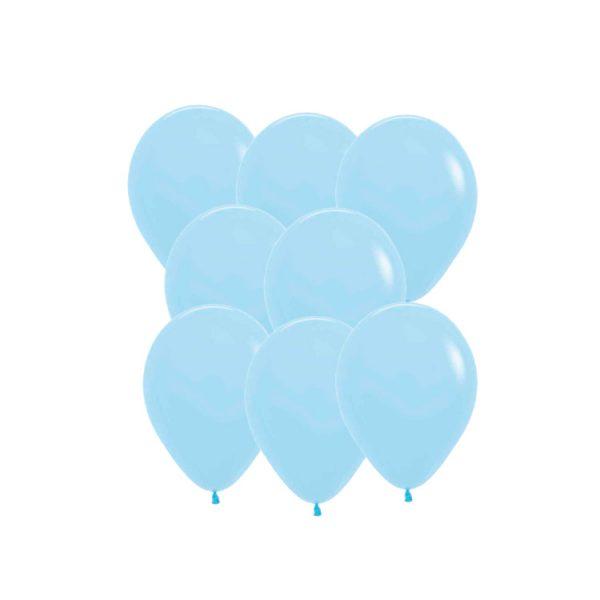 Set de menaje azul Baby Shower (16 servicios) -