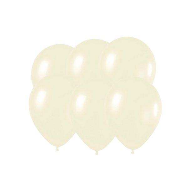 100 Globos pastel color MARFIL - Bodas de Oro