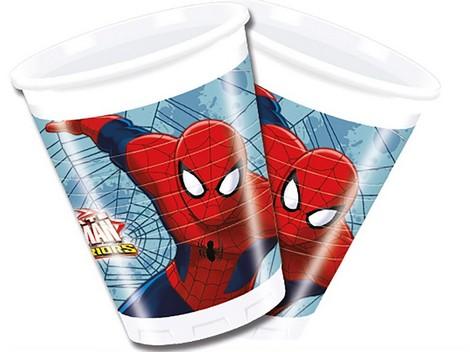 Vaso plástico SPIDERMAN - Cumpleaños infantil