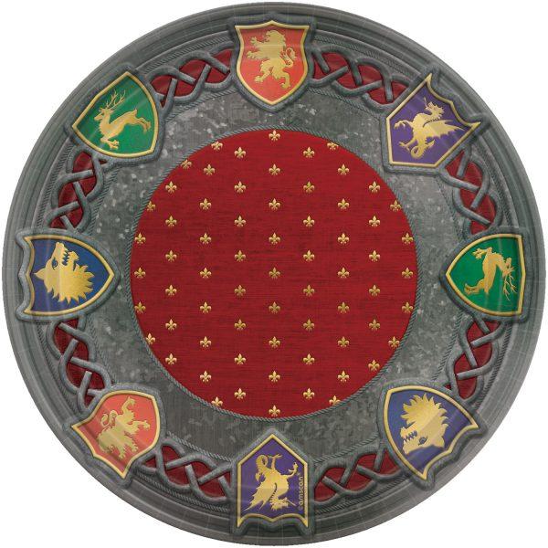 PLATO MEDIEVAL de 26cm - Fiesta medieval