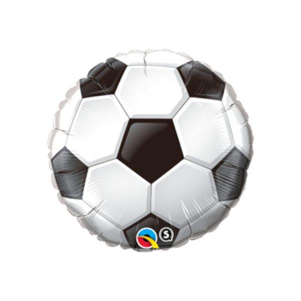 """Globo microfoil """"BALÓN FUTBOL"""" de 45 cm -"""