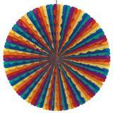 Abanico multicolor de 70 cm -