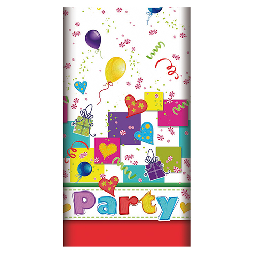 Mantel papel PARTY-MIX de 120 x 180 cm -