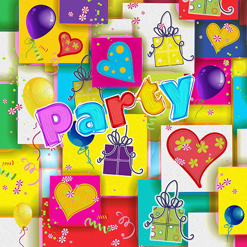 Servilletas papel PARTY MIX de 33x33 cm -