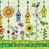 Servilletas papel HAPPY DAY de 33x33 cm -