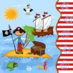 Servilletas Pirate-Island-81975