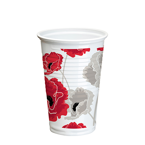 Vasos PP POPPY de 200 ml -