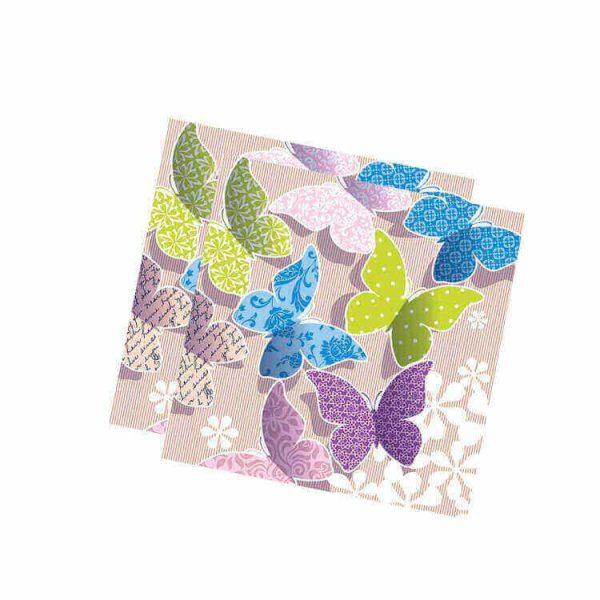 Servilletas papel MARBELLA de 33x33 cm -