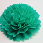 flor verde jade 30 cm