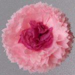flor rosa 45 centro fucsia