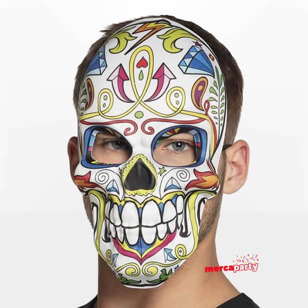 Máscara Día de los muertos -