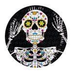 B97025 calavera day of the dead