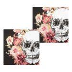 Servilletas de papel Day of the dead de 33 x 33 cm -