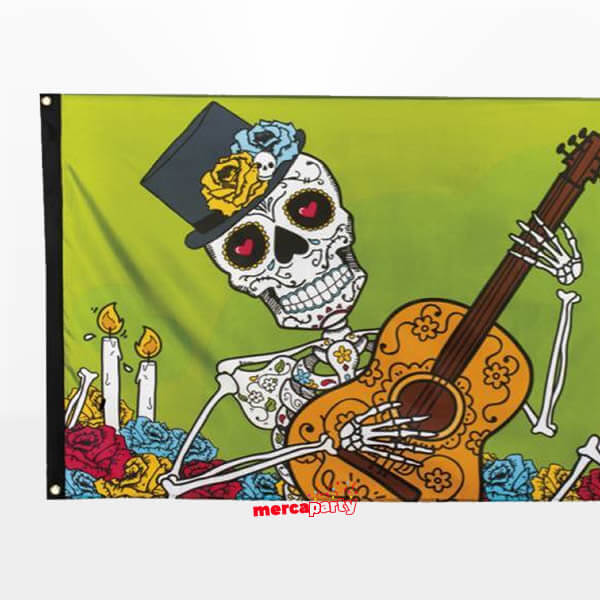 Decoración pared Calavera Day of the dead -