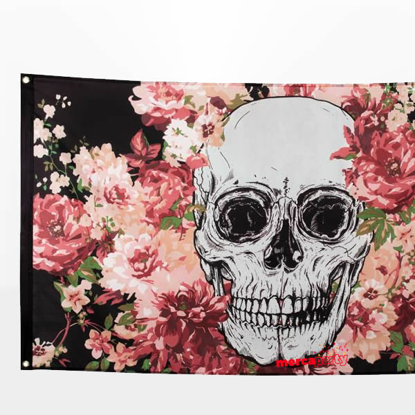 Decoración pared Day of the dead de 90 x 150 cm -