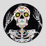 B97025 calavera day of the dead A