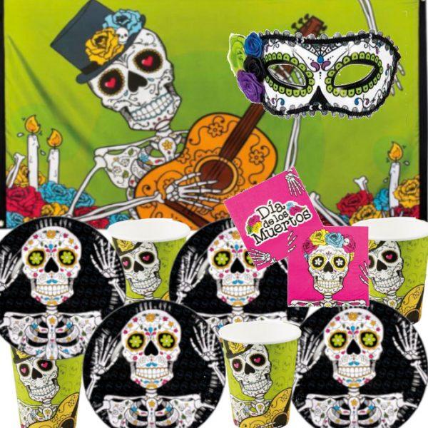 Decoración pared y mesa Calavera Día De Los Muertos - Mesa Halloween