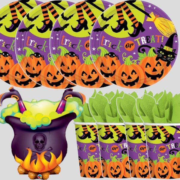 """Decoración de mesa """"BRUJA"""" - Mesa Halloween"""
