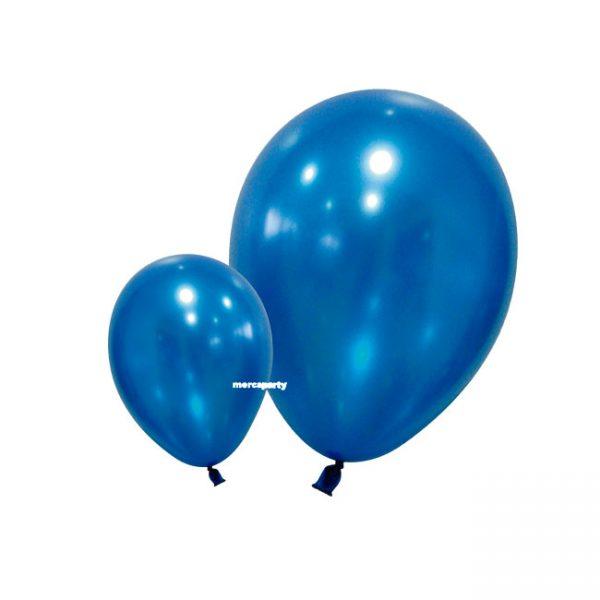 Conjunto de globos azul y blanco -