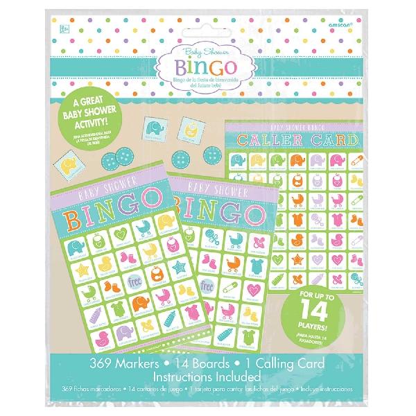 Juego babyshower Bingo - Artículos y Accesorios para Decoración Baby Shower
