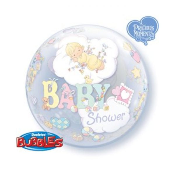 "Globo Bubbles de 22"" ""Precious Moments Baby Shower"" -"