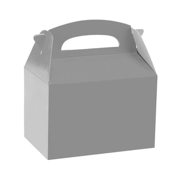 Caja de cartón gris de 15 x 10 x 17 cm para chuches - Candy Bar