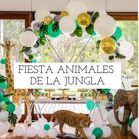 Fiesta animales de la jungla