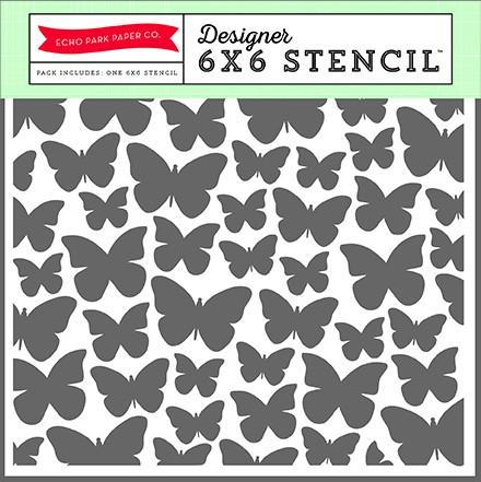 Plantilla Mariposas de 15x15 -