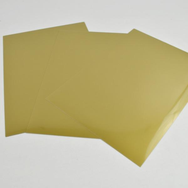 Vinilo textil film oro cricut -