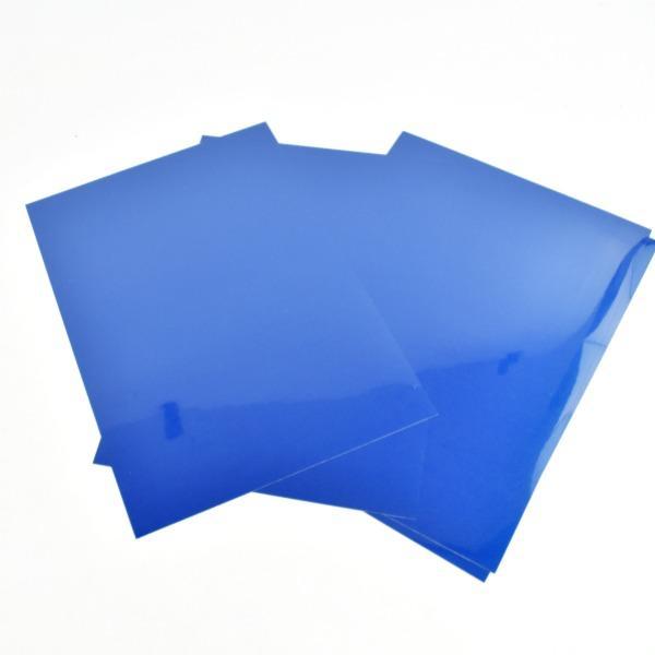 Vinilo textil electric azul cricut -