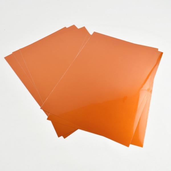 Vinilo textil electric naranja cricut -