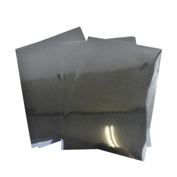 Vinilo textil film negro cricut -