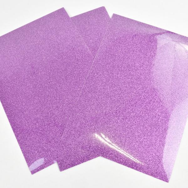 Vinilo textil glitter lavanda cricut -