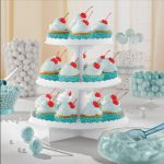 Stand para cupcakes de cartón en color Blanco -