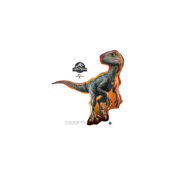 "Globo Dinosaurio Jurassic World Raptor de 38"" -"