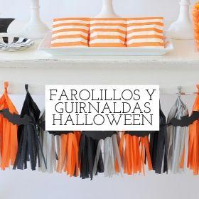farolillos y guirnaldas halloween