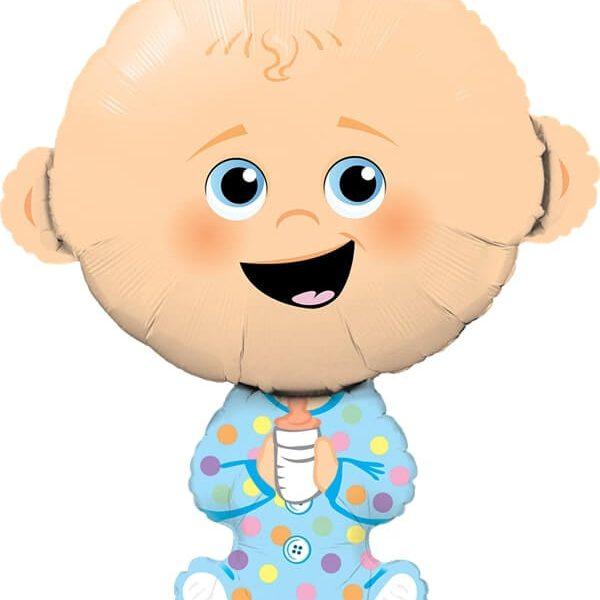 Globo Baby Boy de 96cm - Globos cumpleaños infantil
