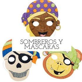sombreros y mascaras