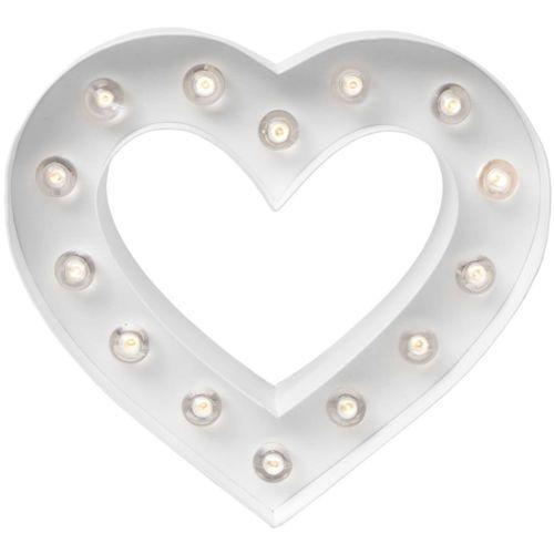 Corazón con luces -