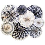 GFP701 conjunto abanicos gingham farm fans