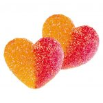 0802301100 corazones melocotón grandes