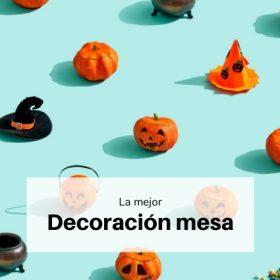 Decoración mesa halloween