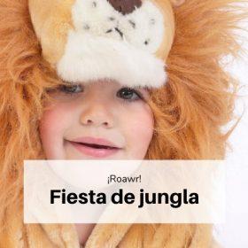 Fiesta animales jungla