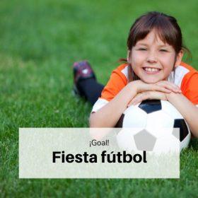 Fiesta fútbol infantil