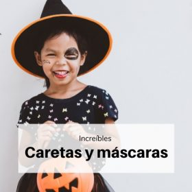Caretas y mascaras halloween