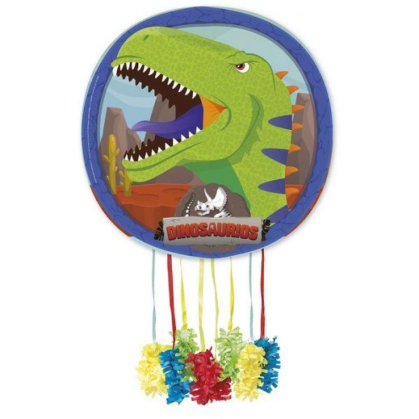 Piñata de cartón Dinosaurio T-rex - Candy Bar