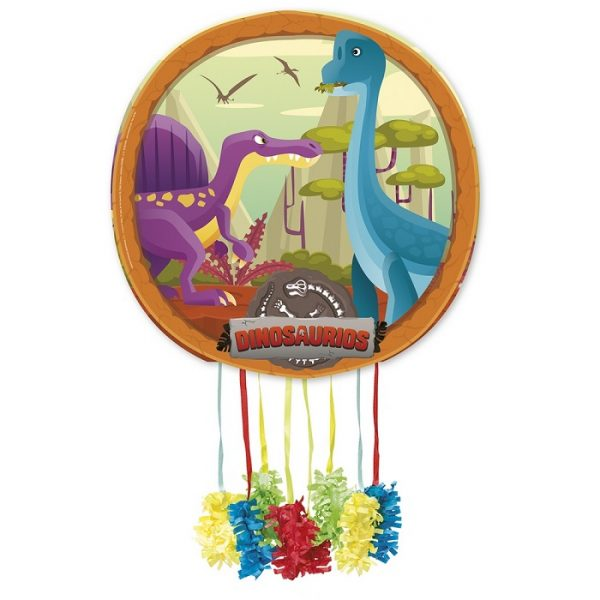 Piñata de cartón Dinosaurio Branchiosaurus - Candy Bar