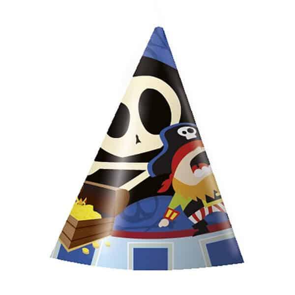 Gorro de cartón infantil Piratas - FIESTA PIRATA