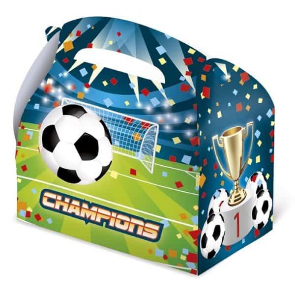 """Caja de cartón para chuches """"Futbol"""" - Candy Bar"""