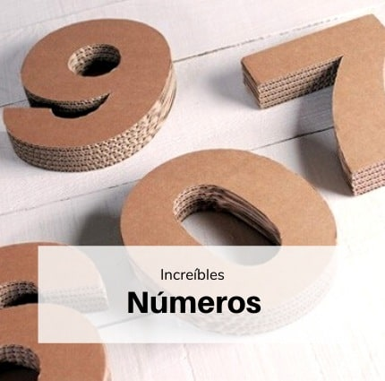 Decoración números